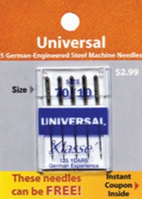Klasse Universal Needles 70/10