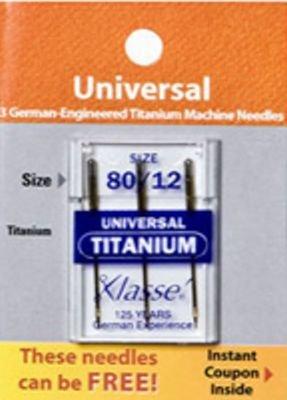 Klasse Universal Titanium Needles 75/11
