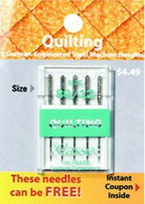 Klasse Quilting Needles 80/12