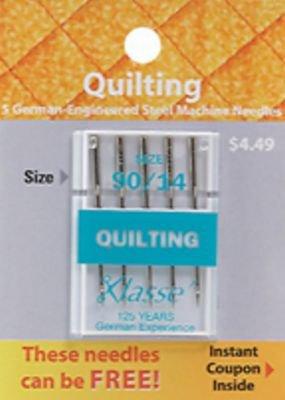 Klasse Quilting Needles 90/14