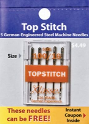 Klasse Top Stitch Needles 10/16