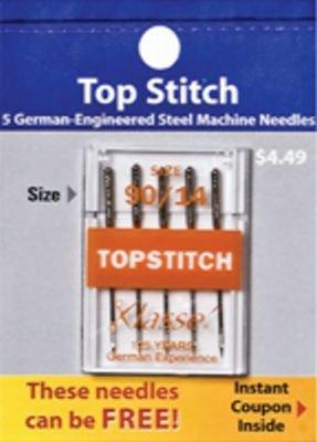 Klasse Top Stitch Needles 90/14