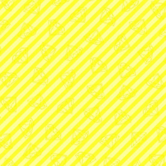 Tattooed in Gem Stripe Yellow by Libs Elliot from Andover Fabrics
