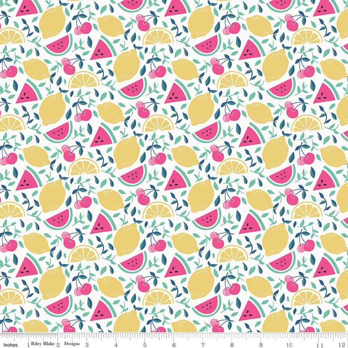 Fruit Cream from I'd Rather Be Glamping by Dani Mogstad for Riley Blake Designs