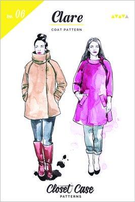 Closet Case Patterns - Clare Coat Pattern