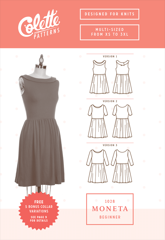 Moneta Dress Sewing Pattern From Colette