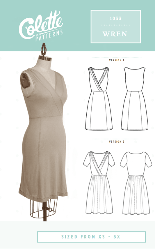 Wren Dress Sewing Pattern From Colette