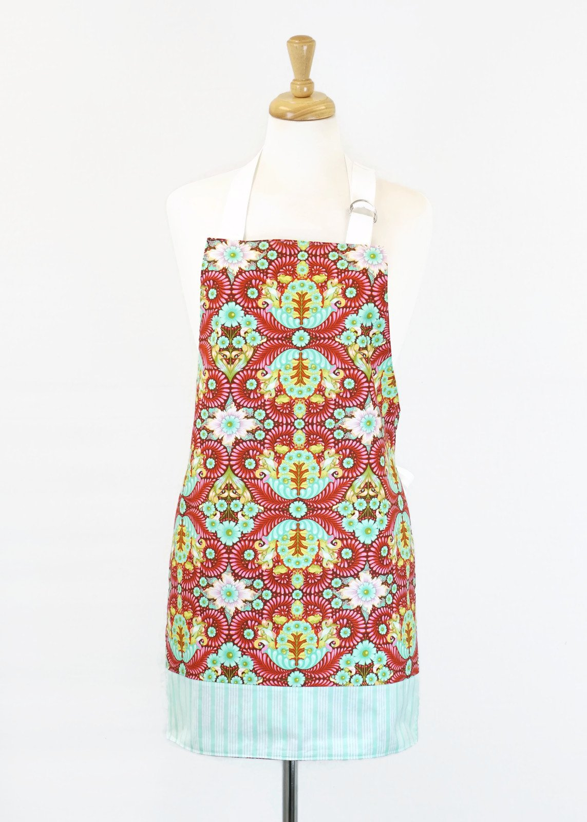 Women's Apron - Tula Pink Turtles
