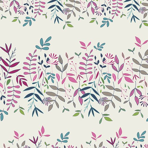 Flower Child in Lush Canopy Cloud by Maureen Cracknwell for Art Gallery Fabrics