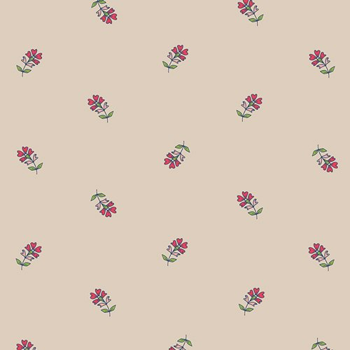 Flower Child in Sprinkled Petals Sun by Maureen Cracknwell for Art Gallery Fabrics