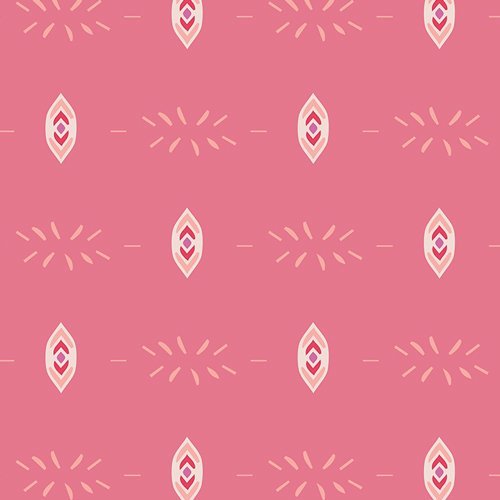 Flower Child in Flicker & Fade Blush by Maureen Cracknwell for Art Gallery Fabrics