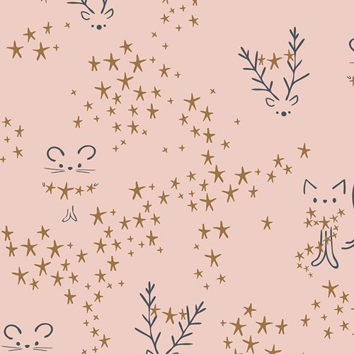 2 Yards 20 - Sparkler Fusion in Starbright for Art Gallery Fabrics