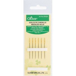 Gold Eye Chenille Needles No. 24