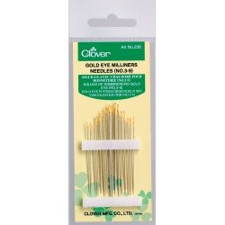 Gold Eye Milliner Needles (No. 3-9)