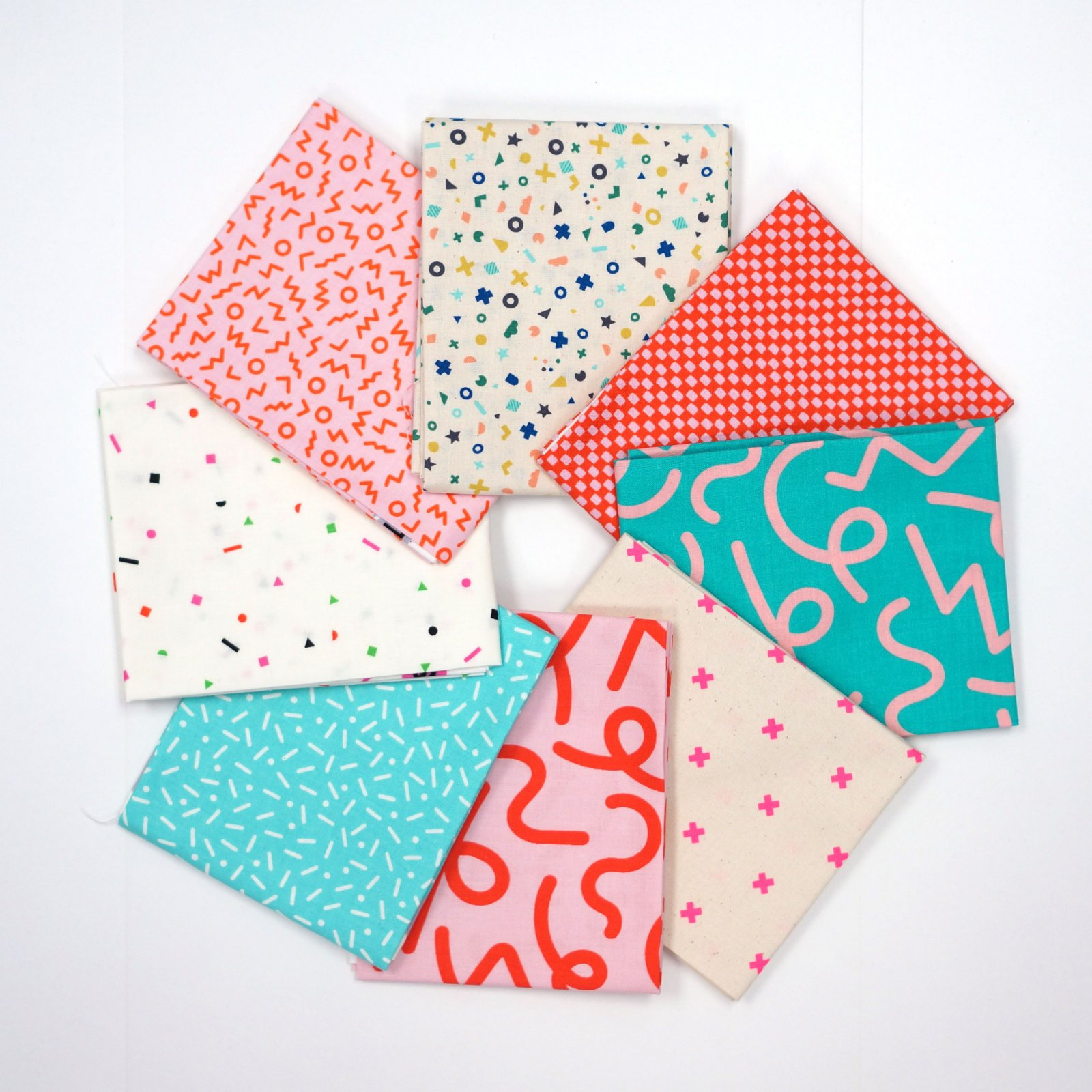 Snap to Grid Remix - Crosscut Sewing Custom 8 Piece Fat Quarter Box