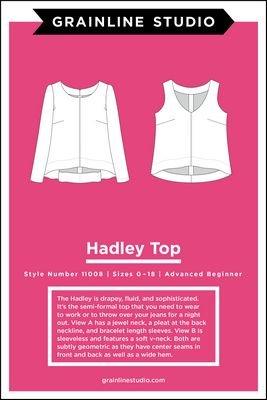 Grainline Studio Hadley Top Sewing Pattern