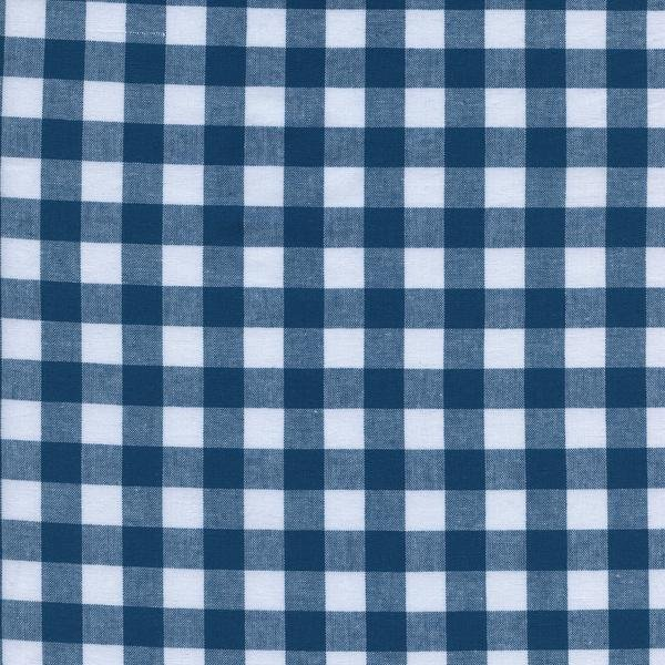 1/2 Gingham - Teal Checkers by Cotton + Steel