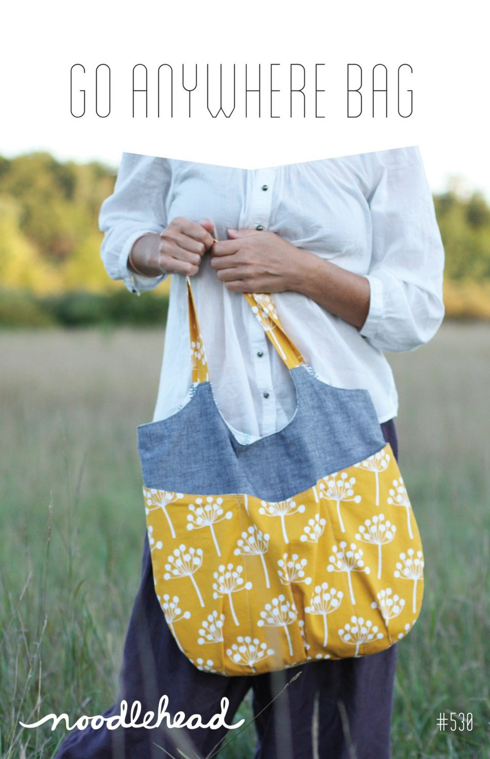 Go Anywhere Bag Sewing Pattern from Noodlehead