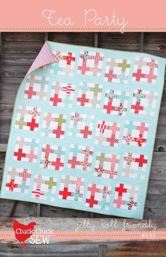 Tea Party Quilt Pattern from Cluck Cluck Sew