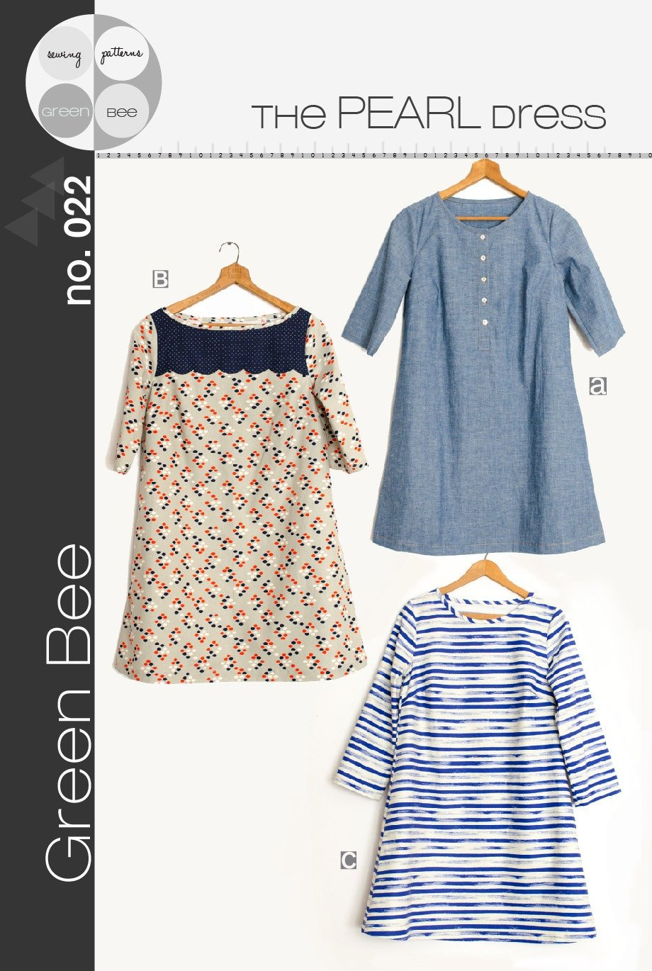 The Pearl Dress Pattern from Green Bee Patterns
