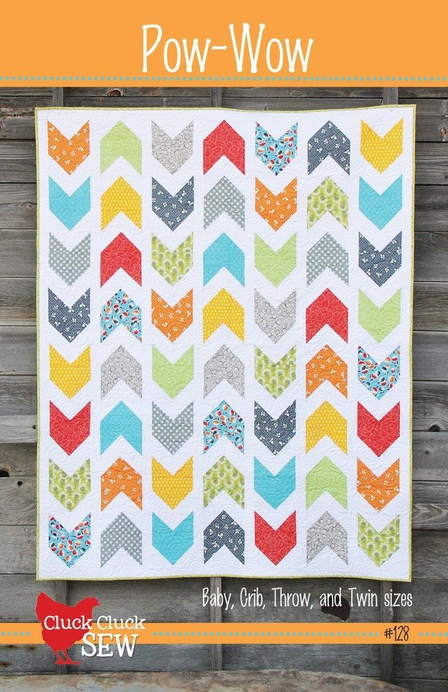 Pow-Wow Quilt Pattern from Cluck Cluck Sew