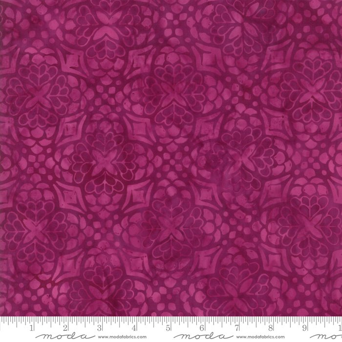 Longitude Batiks Magenta (27259 154) from Kate Spain for Moda