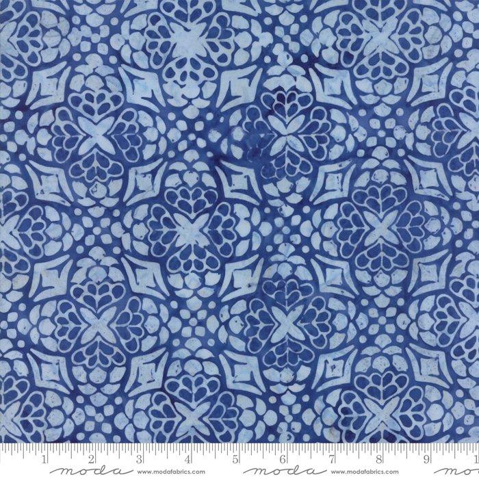 Longitude Batiks Royal Blue (27259 168) from Kate Spain for Moda
