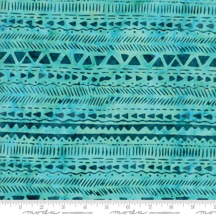 Longitude Batiks Turquoise (27259 170) from Kate Spain for Moda