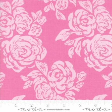 38 REMNANT - Early Bird in Blooms Lilac by Kate Spain for Moda