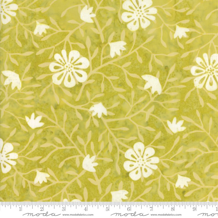 Longitude Batiks Citrine (27259 63) from Kate Spain for Moda