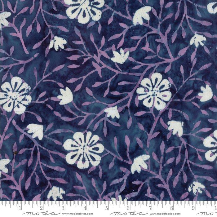 Longitude Batiks Navy (27259 71) from Kate Spain for Moda