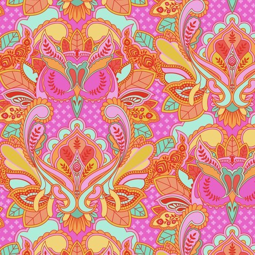 All Stars in Owl Peony by Tula Pink for FreeSpirit Fabrics