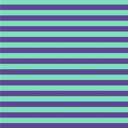 1 Yard 35 - Tent Stripes in Iris by Tula Pink for FreeSpirit Fabrics
