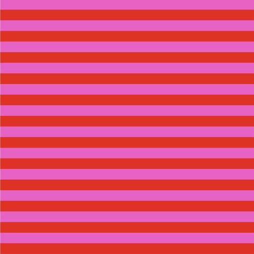 Tent Stripes in Peony by Tula Pink for FreeSpirit Fabrics
