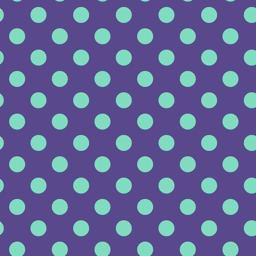 32 REMNANT - Pom Pom in Iris by Tula Pink for FreeSpirit Fabrics