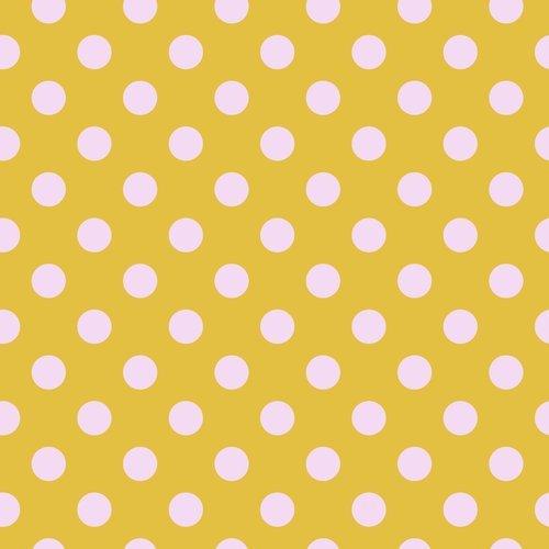 Pom Pom in Marigold by Tula Pink for FreeSpirit Fabrics