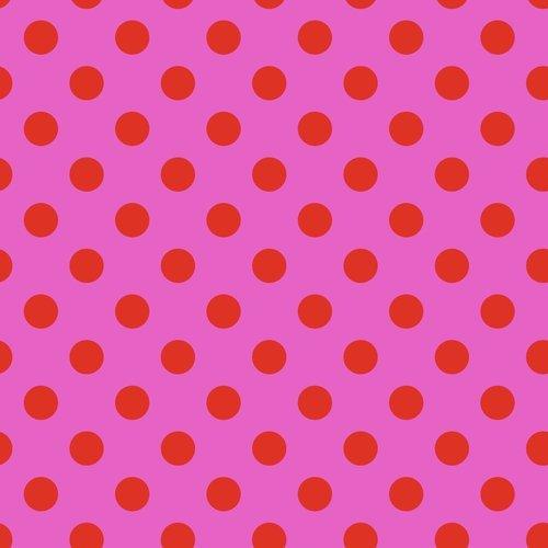 Pom Pom in Peony by Tula Pink for FreeSpirit Fabrics