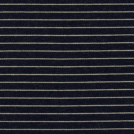 Indigo Knit Stripes