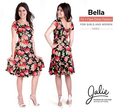 Jalie Patterns Bella Dresses #3460
