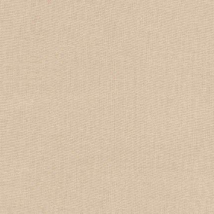13 REMNANT - Kona Cotton Khaki K001-1187 from Robert Kaufman