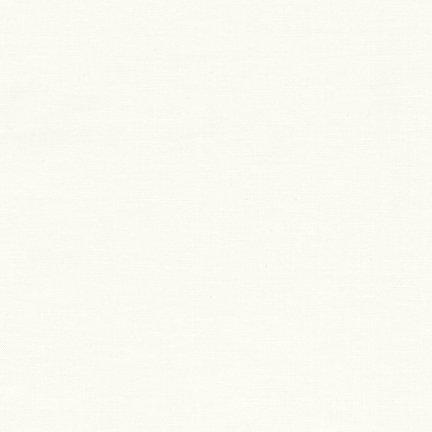 29 REMNANT - Kona Cotton PFD Bleach White K001-1287 from Robert Kaufman