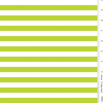 Stripe 1/2 Inch LIME by Riley Blake Designs