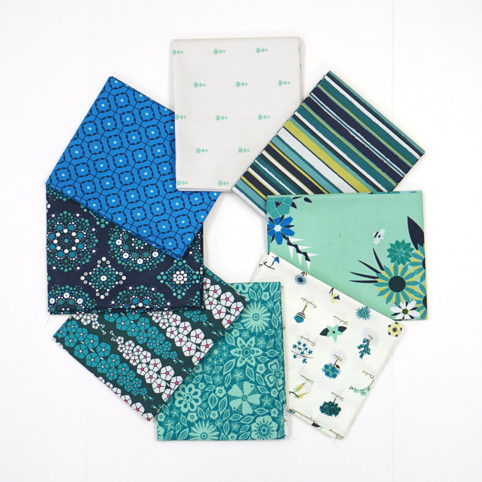 Loved to Pieces - Crosscut Sewing Custom 8 Piece Fat Quarter Box
