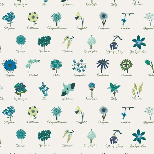 Loved to Pieces in Anthonem Serene by Mister Domestic for Art Gallery Fabrics