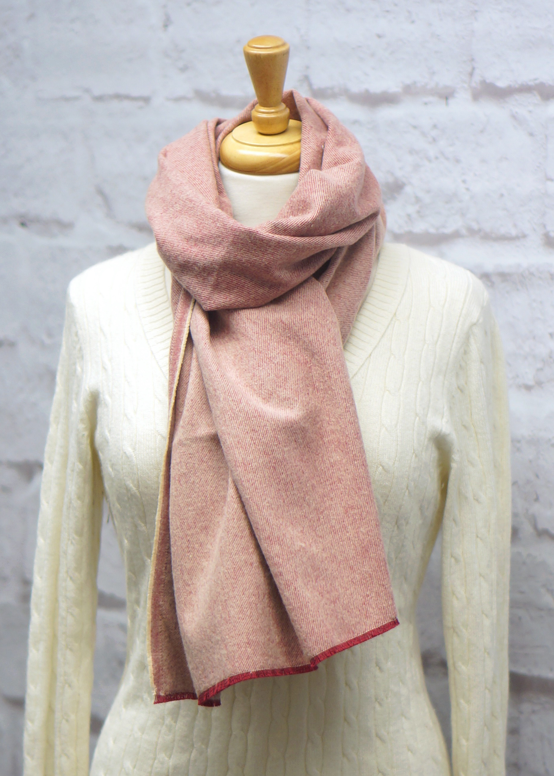 Rose Blanket Scarf