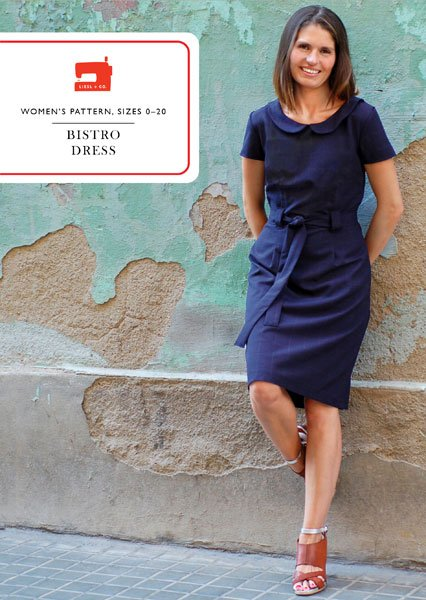 Liesl + Co. Bistro Dress Sewing Pattern