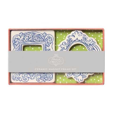 Flourish Ceramic Magnet Frames