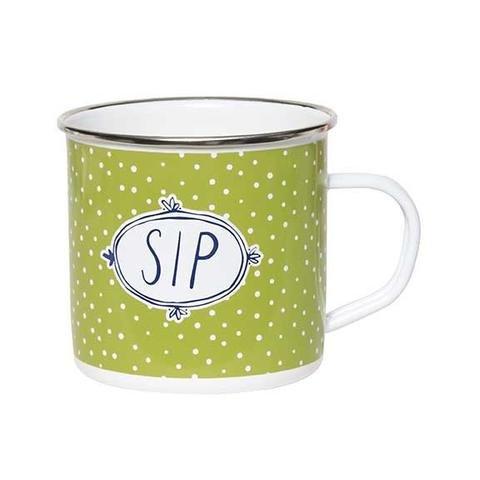 Enamel Mug - Polka Dot Sip