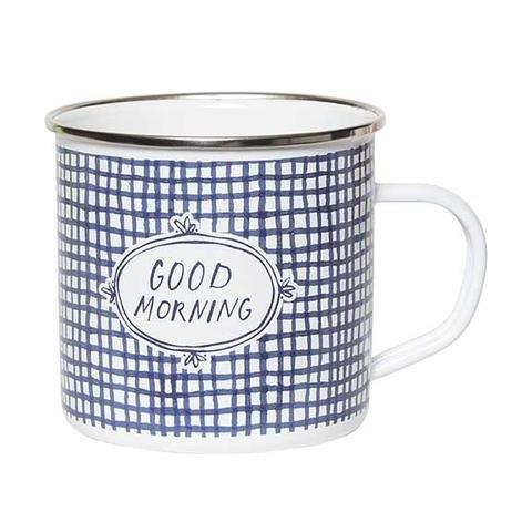 Enamel Mug - Good Morning