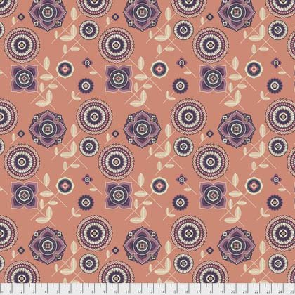 Delphina in Orange from Avalon by Joel Dewberry for FreeSpirit Fabrics